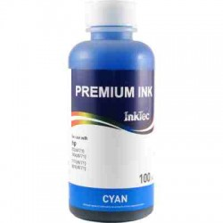 Чернила для HP InkTec H3070-100MC Cyan (Голубой) 100 ml