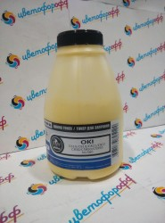 Тонер для Oki OkiData C610/C810/C821/C822/C830/C5850/C5950/MC560 Yellow (фл. 135г) B&W Premium (Tomoegawa) фас. Россия
